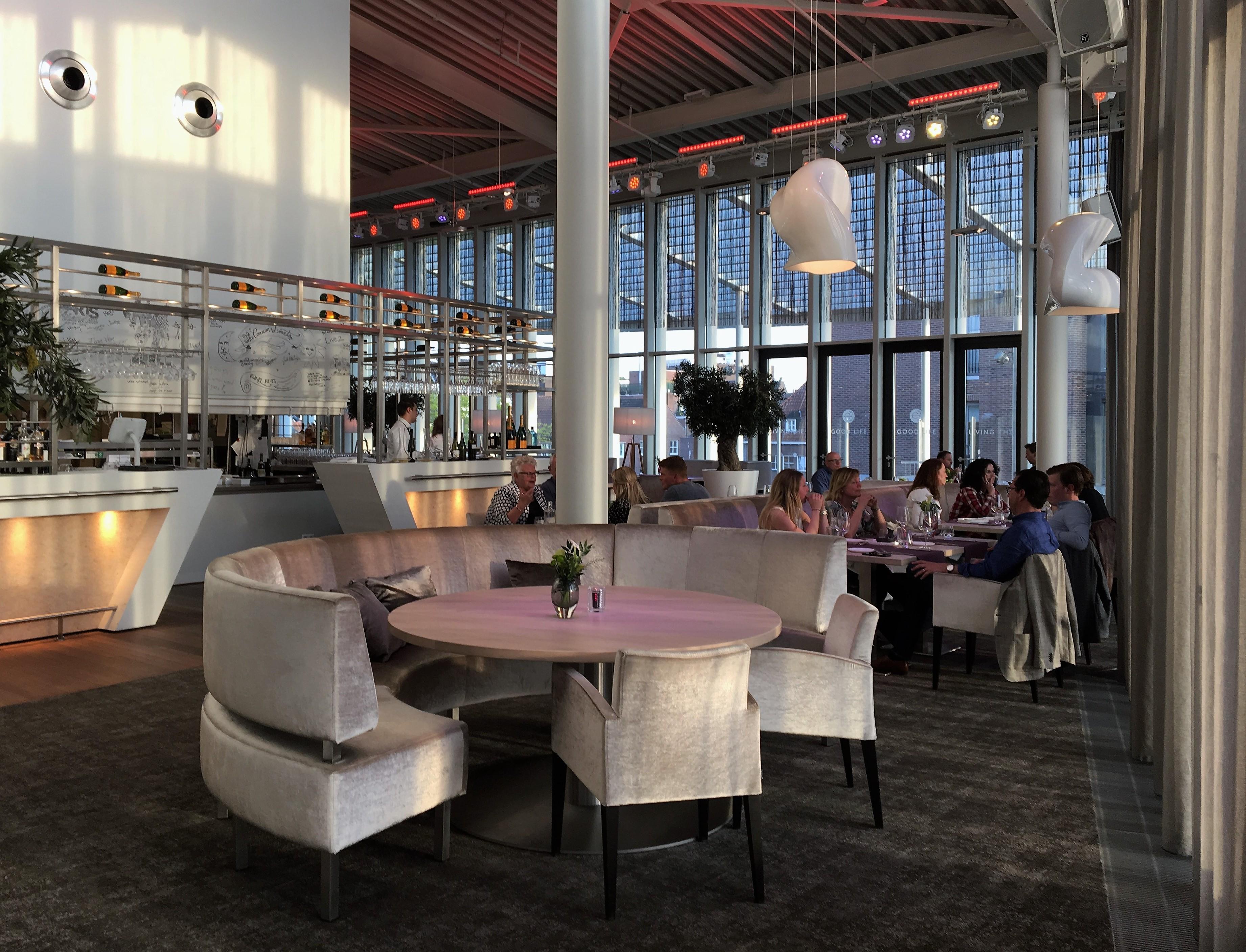 Kwaliteitsrestaurant in het theater van Venlo met prijswinnend Scheutenterras